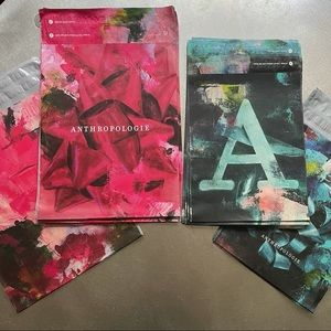 """50 Anthropologie Poly Mailers! 12""""x15.5"""" ,10""""x13"""""""